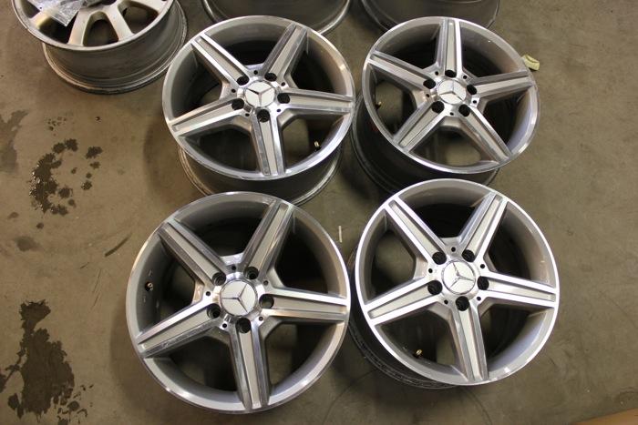 Re Mercedes Benz 7 5x16 Quot 5x112 Et45 216 66 6 Vanteet